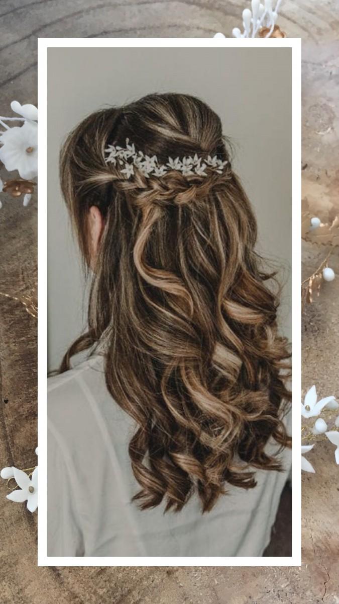 Lizeron Jasmin Hairpiece